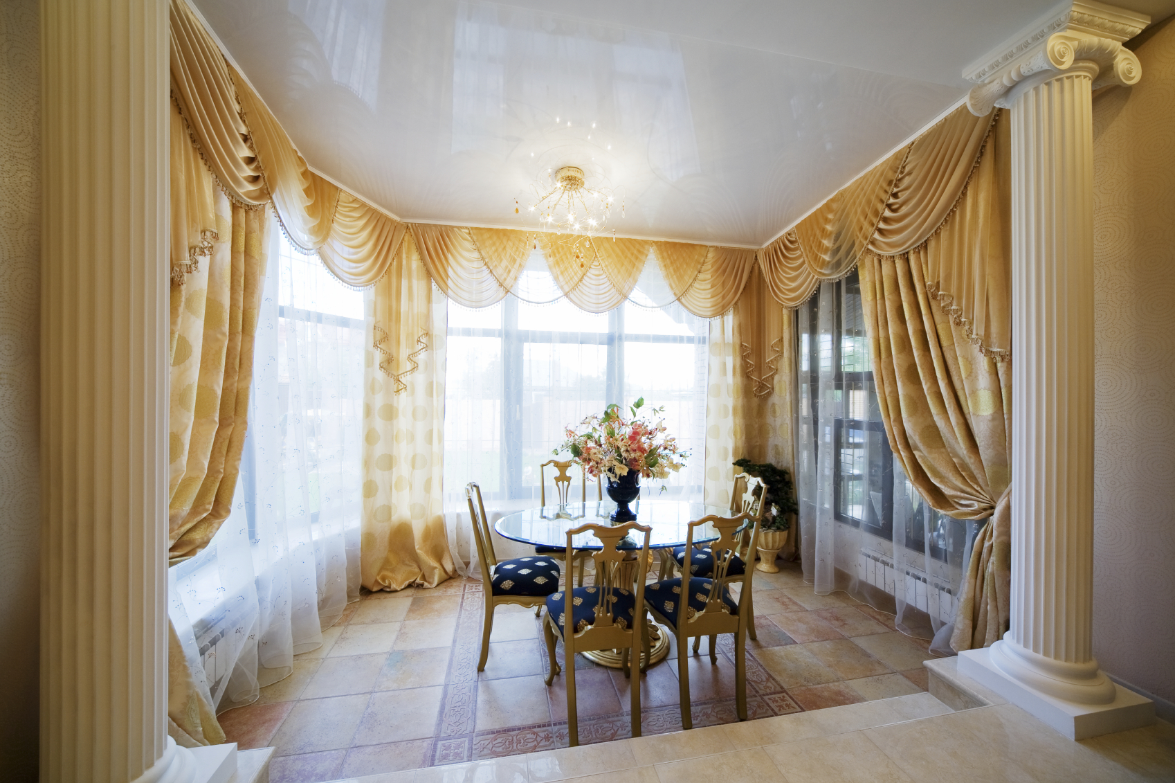 luxury curtain