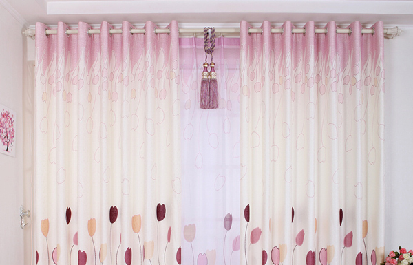 Ripple Folded Curtains